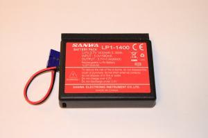 Lipo 3,7V 1S 1400mAh till Sanwa MT-44