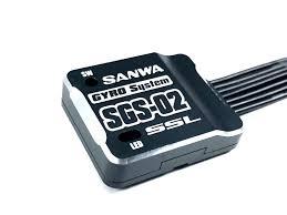Sanwa SGS-02 Gyro w/ SXR Response For 1/10 RC Drift Car