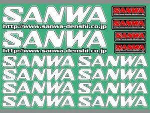 Dekal Vit Sanwa