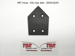 HPI Vorza. Rear Skid. T-Bone.