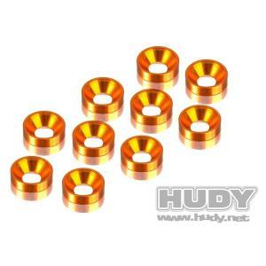 Brickor Försänkta Alu 3 mm Orange