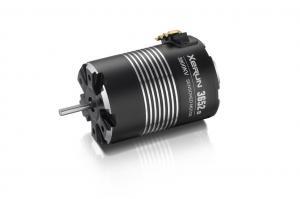 Borstlös Motor 1/10 4-pol Sensor 5100kv 3652 G2 Hobbywing