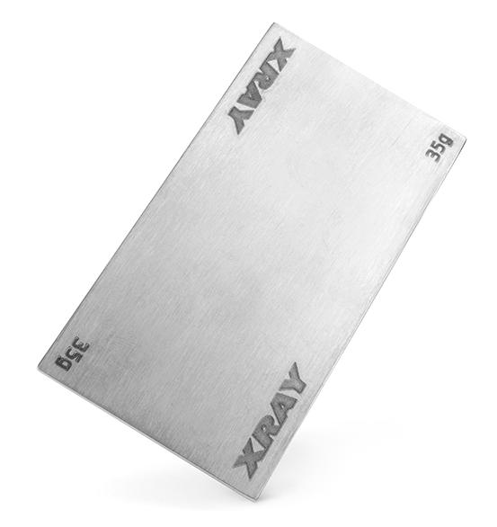 Batteriviktplatta Stål 35g XB2/XB4/XT2