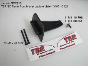 HongNor SCRT10. Front Brace. SC Racer. T-Bone.