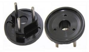3 Shoe Flywheel. Lightened Aluminum. Intech BR-6