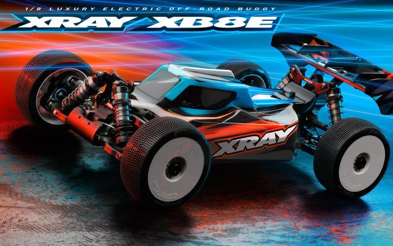 Xray XB8E 2021 1/8 El-Buggy Byggsats