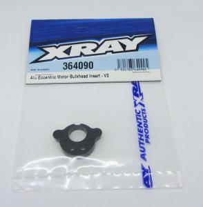 Exentriskt motorfäste inlägg Alu Version 3 Xray XB4