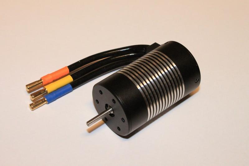 Borstlös Motor 1/10 3660 Sensorlös Vattensäker 3.17mm axel