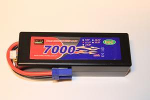 Lipo 3S 11,1v 7000mAh 80C EC5 Hardcase Team Enrichpower