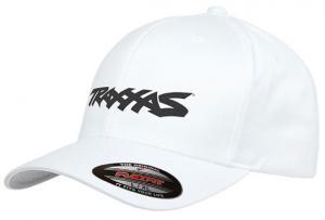 TRX-421188 Keps Svängd Skärm Vit S-M Traxxas