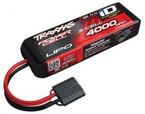 Li-Po Batteri 3S 11,1V 4000mAh 25C iD-kontakt