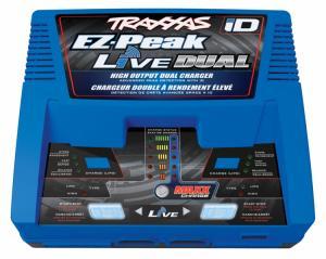 TRX2973G EZ-Peak Live Dual 26A NiMH/LiPo Laddare Auto iD