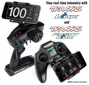 TRX6532 Fäste för Smartphone på TQi och Aton Sändare