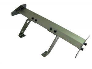 Vinge i aluminium. 165 mm. Gunfärg.