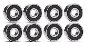 S608-2RSC 8x22x7 (8 st.) Skateboard, rullskidor Keramiska kullager