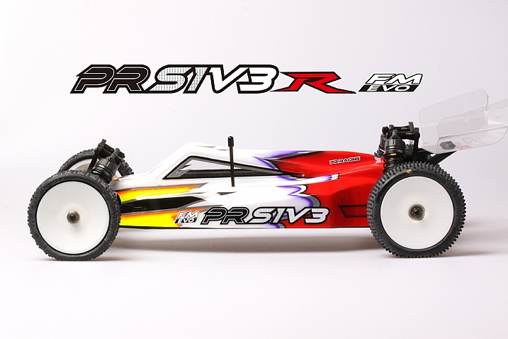 PRS1V3 (FM) Pro 1/10 Electric 2WD Off Road Buggy  Kit (Drev Diff Version)