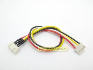 Li-Po förlängningskabel m/ kontakter 3-cell