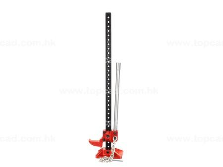 Full metal High Lift Jig. Red. Dekoration.