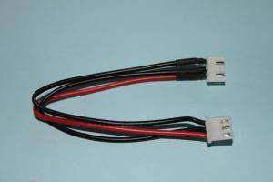 Li-Po förlängningskabel m/ kontakter 2-cell