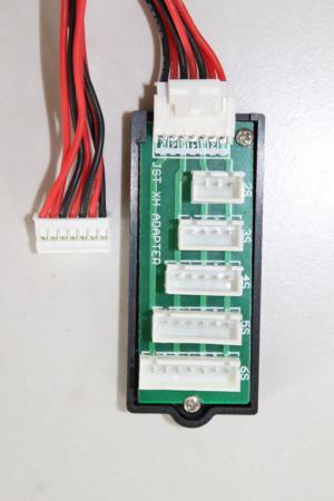 JST/XH Adapter Balansera ladda 2S-6S