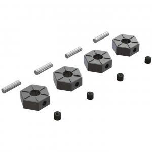 Hjulhex Metall 12mm ARRMA Big Rock 3S/Senton 3S