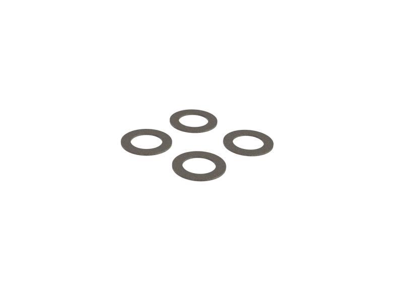 Brickor Stål 7.1x11x0.5mm (10 st.) ARRMA Kraton 4S/Outcast 4S