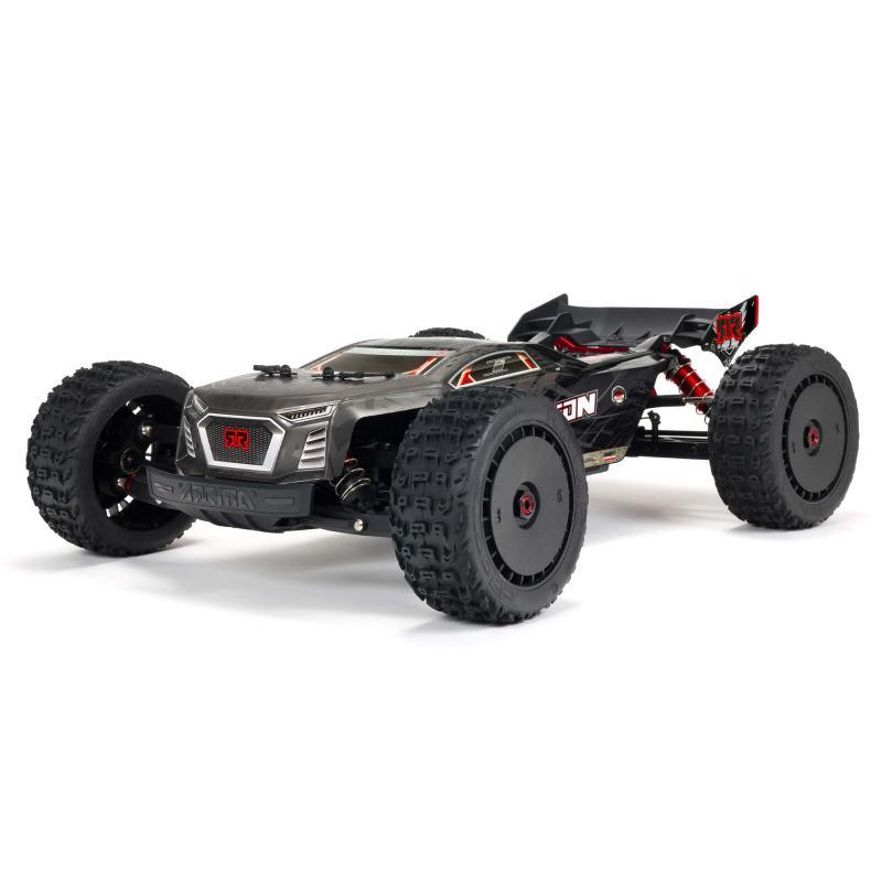 ARRMA 1/8 TALION 6S BLX 4WD EXtreme Bash Speed Truggy RTR, Black