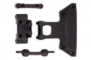 Chassie Plate/Arm Mount/Bulkhead ASS PROSC10