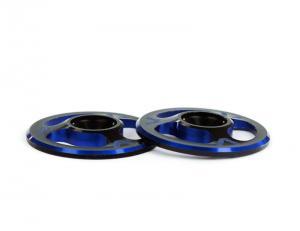 Vingbrickor Alu Triad 1/8 1/10 AVID 2-färgade Svart/Blå