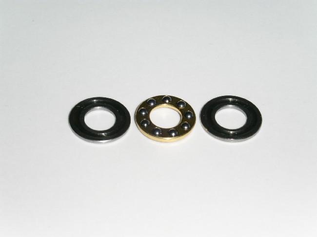 Axialkullager 3x8x3,5