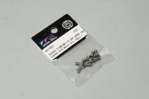 B0740T Skruv M3x8 Button Head Titan