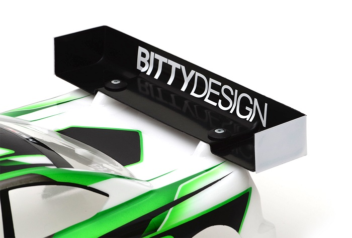 Vinge hård 1mm Ultra Charge för 1/10 TC 190mm Bittydesign