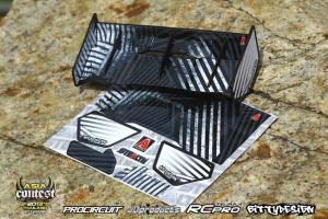 Stealth Wing 1/8 Svart Bittydesign