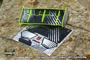 Stealth Wing 1/8 Gul Bittydesign