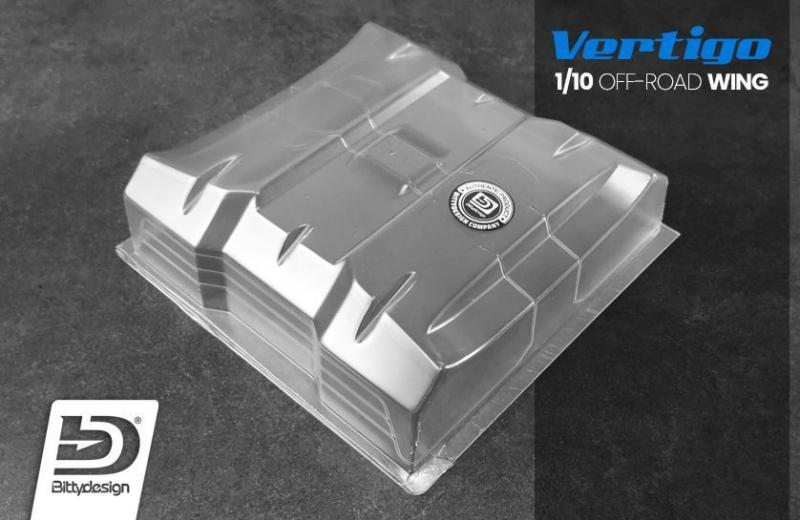 ​Vinge 1/10 Off-Road Vertigo 1mm Oklippt Lexan (2 st.) Bittydesign