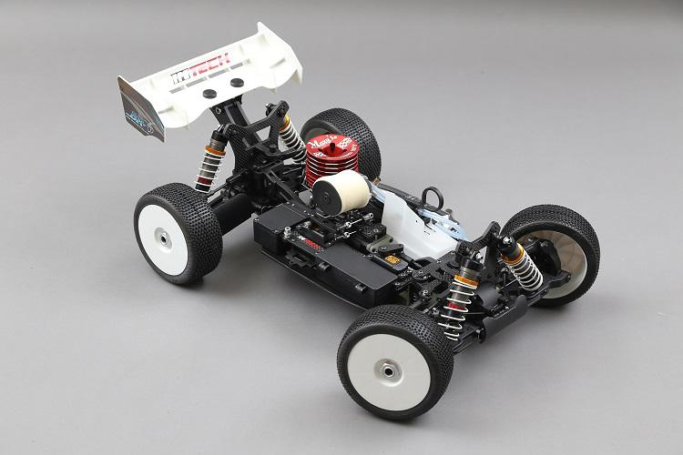 Intech BR-6 2.0 1/8 4wd Offroad Nitro Buggy.