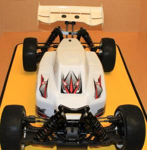 Intech BR-6E 1/8 4wd El-buggy RTR Komplett paket