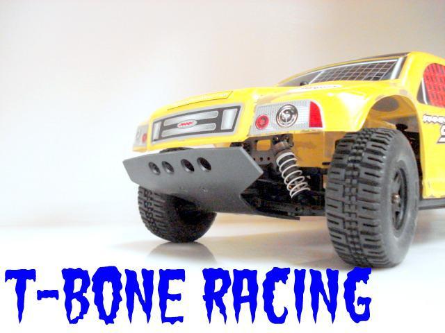 HongNor SCRT10. Främre bumper. Racer. T-Bone.