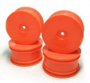 Fälgar. Orange. 4 st. Carisma GTB 1/16.