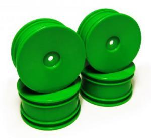 Fälgar. Neon Grön. 4 st. Carisma GTB 1/16.