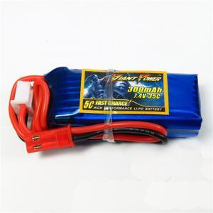 Lipo Batteri 7,4V 2S 300mAh 35C Carisma GT24B