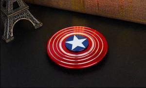 Fidget Spinner Captain America Metall