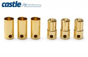 Bullet Kontakter 3Par 200A Castle