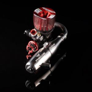 Reds Racing 721 S Scuderia 3.5cc Off-road motor med avgassystem