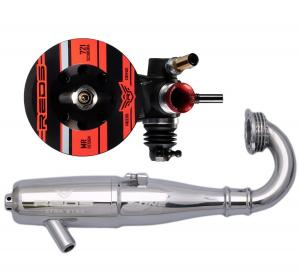 Reds Racing 721 Superveloce 1/8 Offroad Buggy motor med Avgassystem