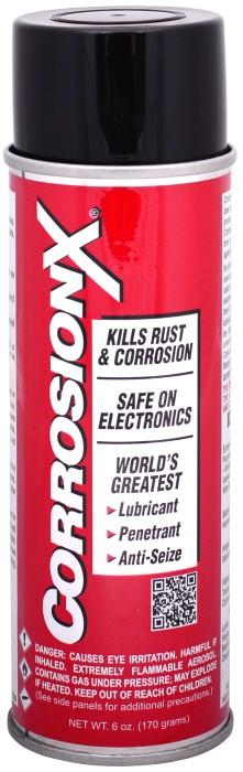 Fukt/Rostskydd RÖD 500ml Sprayflaska CorrosionX