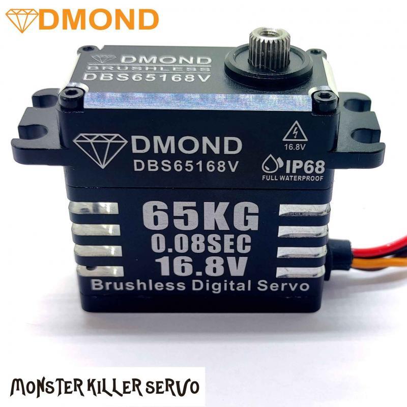 Digitalt Borstlöst Servo DMOND Monster Killer 65kg/0.08sek (16.8V) Waterproof IP68