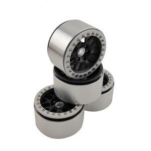 """Fälgar Aluminium Beadlock Crawler 2.2"""" Svart/Silver (4 st)"""