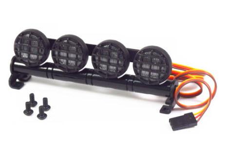 Ljusramp LED Aluminium (4 st.) 102x19x38mm