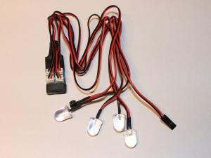 LED lampor 4 st. 10mm HobbyDetails